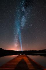 star sky with a milky way