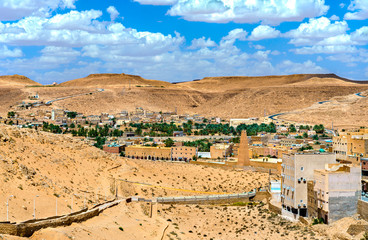 El Atteuf, an old town in the M'Zab Valley in Algeria