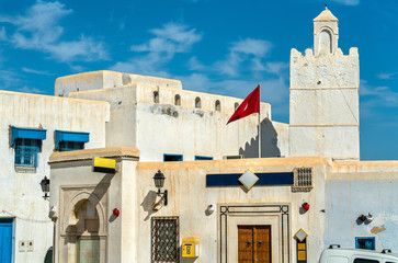 Traditional houses in Medina of Kairouan. A UNESCO world heritage site in Tunisia