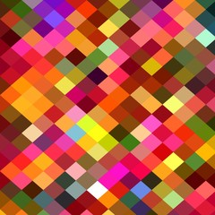pixel color block abstract background