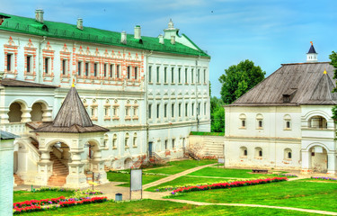 Palace of princes and bishops of at Ryazan Kremlin in Russia