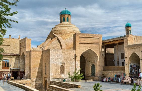 Toki Sarrafon Trading Dome in Bukhara, Uzbekistan