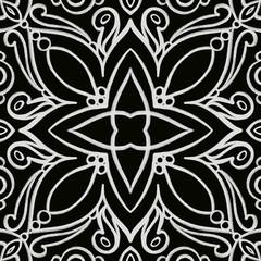 Chalkboard ornament tile