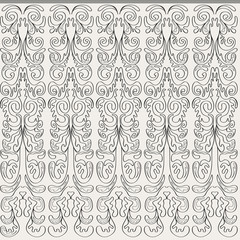 Seamless background with vertical contour patterns