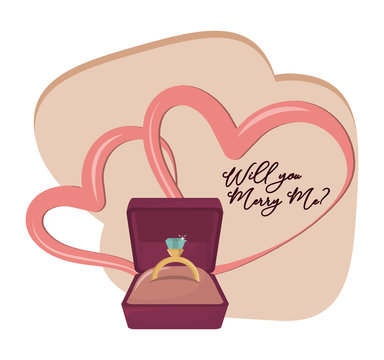 will you marry me cartoon