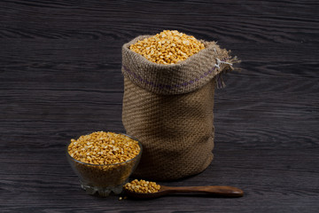 yellow Chickpea Lentils seeds