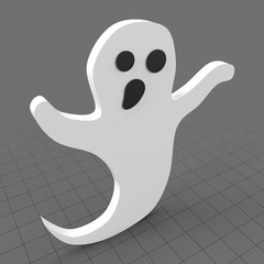 Stylized ghost