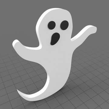 Stylized ghost