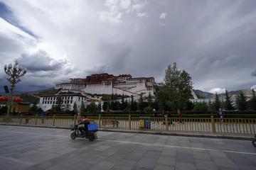 Scenery of Lhasa, Tibet