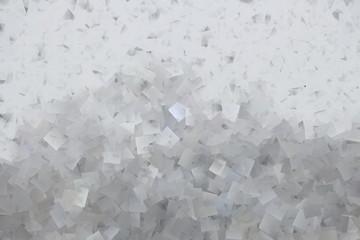 Weißes Mosaik mit Quadraten