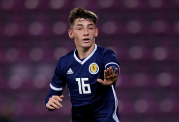 European Under 21 Championship Qualifier - Scotland v England