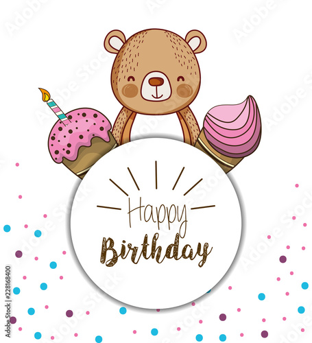Happy Birthday Card Cartoons Stock Image And Royalty Free Vector