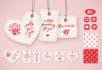 Gift Tag Layout Set