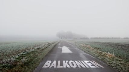 Schild 402 - Balkonien