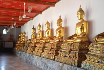 temple du bouddha couché le wat pho bangkok