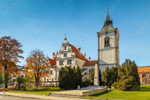 Levoca historic centre  a small picturesque town in the