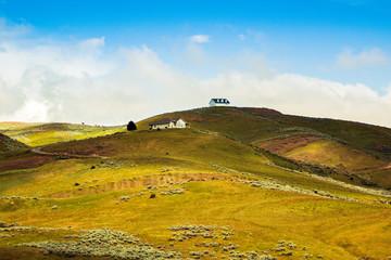 Houses on Rural Hills
