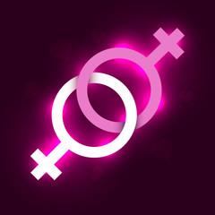 Lesbian vector symbol
