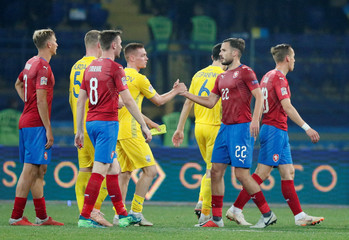 UEFA Nations League - League B - Group 1 - Ukraine v Czech Republic