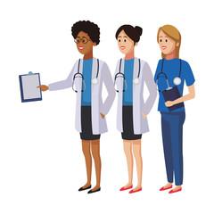 Doctors medical teamwork