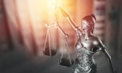 Themi symbol of justice statue