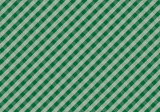 Gingham green pattern,Texture for : plaid, tablecloths, clothes, shirts, dresses, paper, bedding, blankets, quilts and other textile products. Vector illustration.