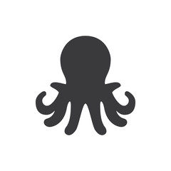 Aquarium octopus vector icon