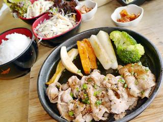 Japanese pork steak