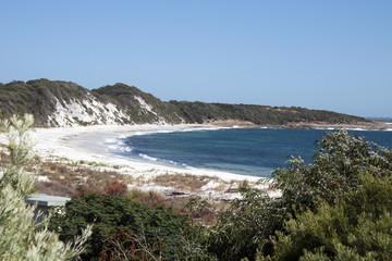 Albany Australia, Coastal view with white sand beach
