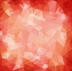 Abstract Red White Polygonal Mosaic Background, Vector illustration, Creative Business Design Templates