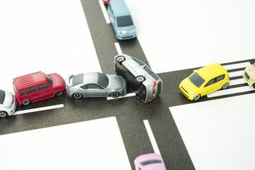 交差点での事故イメージ