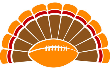 Thanksgiving Turkey Football