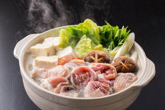 鶏鍋~水炊き