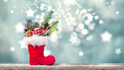 magischer Nikolausstiefel gfefüllt