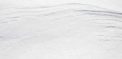 Nature Winter background With Beautiful pattern on snow