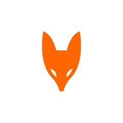 fox logo vector icon illustration