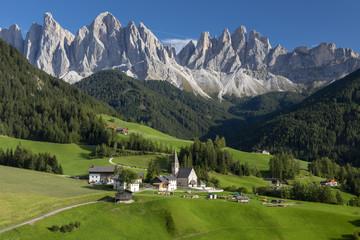 Kirche St. Magdalena in den Dolomiten