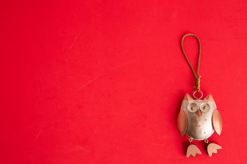 owl ornament for christmas tree