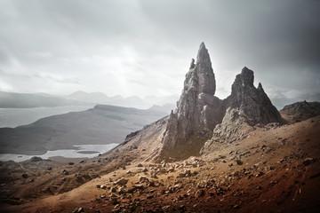 The Storr - Isle Of Skye Landscape In Scotland