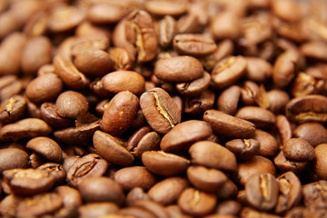 Roasted coffee background