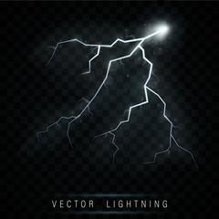 Lightning flash bolt