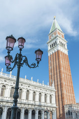 Fotomurales - Campanile and St Mark's Square, Venice, Italy