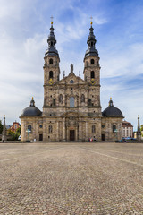 Fulda Cathedral and Domplatz square