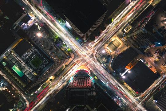 Koreatown, Los Angeles at night