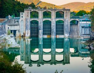 Dam on Soca river