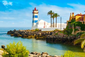 Foto auf Acrylglas Leuchtturm Santa Marta lighthouse
