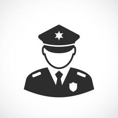 Police vector icon