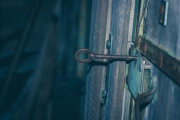 old door key