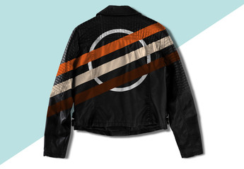 Leather Jacket Mockup