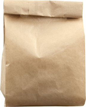 Brown Paper Bag - Isolated